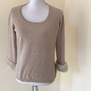 MaxMara Light brown  medium wool blend sweater